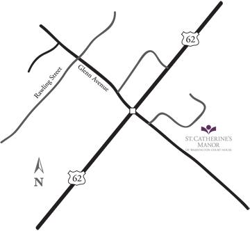 St. Catherine's Manor of Washington Court House Maps Directions